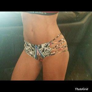 Swim - ❌⚫❌⚫SOLD❌⚫❌⚫NEW -Boutique stringy bikini bottom S